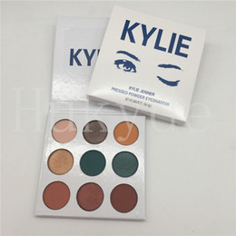 Wholesale Multi Color Highlighter - Kylie Jenner 9 Colors Blue Honey Eyeshadow Palette Kyshadow Honey Palette 9 Color Highlighters Makeup Palettes