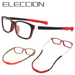 4b7ddd0a4f72 ELECCION Newly Upgraded Sports Glasses Frame Ultralight Comfortable Basketball  Glasses Frame Myopia Spectacle frames for Men