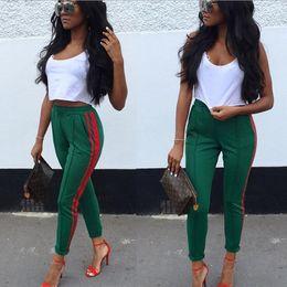 Wholesale women pencil pants - 2018 ladies European and American best selling slim fit leisure pencil pants Girls fashion pencil pants Casual fashion pants