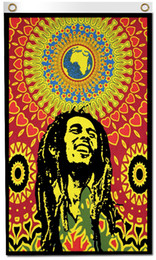 Festival de cartazes on-line-Impressão digital 3x5ft BOB Marley Cartaz Bandeira 90x150 cm Poliéster Hippie True Lengend Reggae Rasta Festival de Música de Parede Pendurado Tecido Banner
