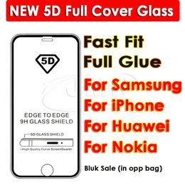 Protecteur d'écran 5D Full Cover Temepered Glass pour iphone XR XS MAX 8 8PUS 7 7 PLUS 6 6 PLUS pour Samsung Galaxy A7 ? partir de fabricateur