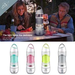 Wholesale Beauty Mist - Sports Smart Water Bottle Mist Sprayer Portable Cool Beauty Spray Bottle with SOS LED Light OOA4622