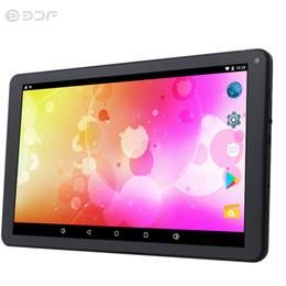 2019 compresse wifi a buon mercato 10 pollici WiFi Android 5.1 Tablet Pc Quad Core 1 GB + 8 GB Dc 2.5 Caricabatterie Adattatore Slot Tablets Pc economici e semplici compresse wifi a buon mercato economici
