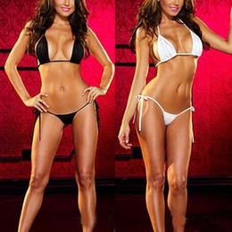 Wholesale Top Hot Bra - Hot Womens Sexy Lingerie Swimsuit Swimwear Babydoll Bikini Top Bra G-string Set Hot
