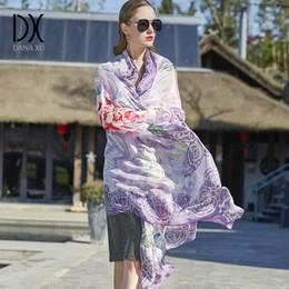 100% soie foulard marque de luxe femmes 2018 nouveau design plage  couverture châle porter hijab bandana foulard visage bouclier écharpes pour  dames hijab ... 378a5c221c2