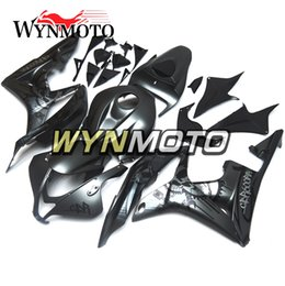 2019 kit di velluto yamaha r1 viola Bicicletta a motore pannelli di plastica per Honda CBR600RR F5 Anno 2007 2008 07 08 Whole Kit carena nero opaco ABS Iniezione Carrozzeria