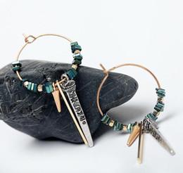 2019 pendentifs africains faits à la main Mode Boucles D'oreilles pour Femmes Dames Boucles D'oreilles Femelle Boucles D'oreilles