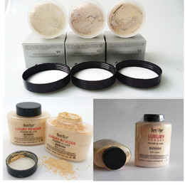 Wholesale oz mix - EPACK Ben Nye Bennye Banana Powder 1.5 OZ Bottle Luxury Powder Brighten Long-lasting Loose Powder Beauty Makeup LAURA MERCIER