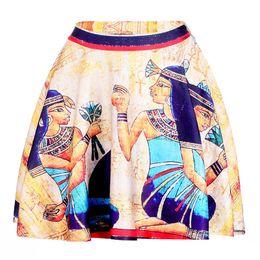 2019 egito sexy Cleopatra Mulheres Sexy Saias Plissadas de Tênis de Boliche Busto Shorts Saias XXL Egito Faraó Feminino Fitness Esporte Vestuário Um Estilo desconto egito sexy