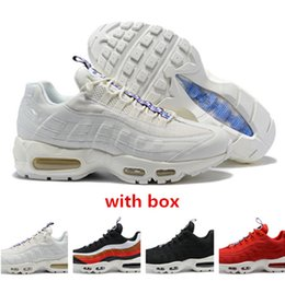 new styles 032b7 fe6d3 2019 95 scarpe 95 Scarpe da ginnastica TT Pull Tab bianco rosso Running  Shoes 95 sneaker