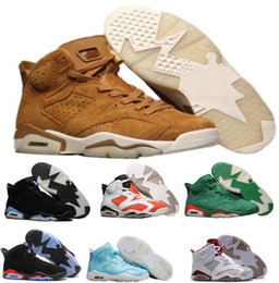 Wholesale Best Brands Basketball Shoes - Best Men Basketball Shoes Sneakers 6 Mens Women Red Gatorade UNC Sports 6s VI Tennis Trainers China Brand Fashion Zapatos Mujer Homme