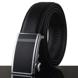 Wholesale Free People Women - 2018 hot New Fat casual fashion 140CM big size casual formal black genuine leather belt Suitable for fat people