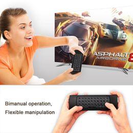 2019 fly computer MX3-L Fly Air Mouse Retroilluminazione opzionale tastiera wireless 2.4G IR Learning per Android TV Box minipc telecomando del computer