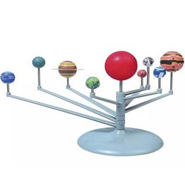 Солнечная система Планетарий Модель Kit Астрономия Научный проект DIY Детский подарок Worldwide sale от Поставщики палка в любом месте
