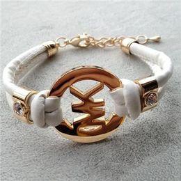 Herren-leder-schmuck online-Mode kinder zubehör handgemachte retro pu leder armband herren damenmode armband männer und frauen schmuck 8 STÜCKE /