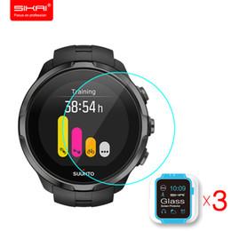 2019 защитный экран Закаленное стекло протектор экрана для Suunto Spartan Sport Watch экран гвардии защитная пленка для Suunto Smart Watch 9 H 2.5 D дешево защитный экран