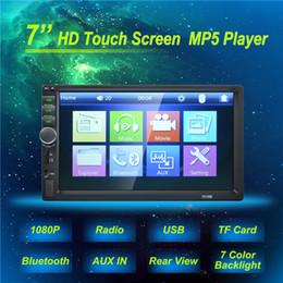 2019 tela de toque para o painel do carro 7 '' Hight-Qualidade Autoradio 2 Din Geral Modelos de Carros LCD Touch Screen Tela de Toque Do Carro Do Carro Do Bluetooth Do Carro DVR Suporte De Áudio Câmera de Visão Traseira tela de toque para o painel do carro barato