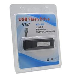 2019 lettore mp3 al litio Alta qualità Digital 8 GB USB Voice Recorder Mini Registratore Audio Attivato Dittafono Flas Pen Rechargable Gravador de voz Profes