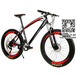 Wholesale 26 inch mountain bike wheels - Dual Disc Brakes Bicycle Mountain Bike unisex Student bicycle,26 wheel 21 speed MTB cycling road bike