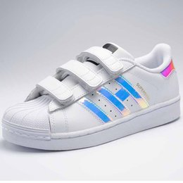 Wholesale Baby Closes - NEW Children Kids Baby Boy Girl Casual Fashion Superstar Shell Toe Board Shoes Female Sneakers Child Zapatos Deportivas Mujer Sapatos Shoes