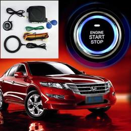 Motor de carro Botão de Arranque Push RFID Bloqueio de Ignição de Arranque Keyless Entry Start Stop Imobilizador de