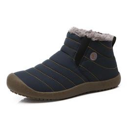 2018 Winter-Frauen-Schnee-Aufladungen Mittel-Kalb-Ankle-Bootsfrauenbeleg auf wasserdichtem Gummi-warmem Pelzplüsch-Regenstiefeln von Fabrikanten