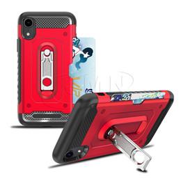 2019 ranuras pc Carcasa para teléfono con soporte de ranura para tarjeta Hummer Case 3In1 para iPhone XR XS X XS MAXX 8 8PLUS 7 7PLUS 6 6PLUS Fundas para teléfono duro con fundas de teléfono duro PC Plus Soft