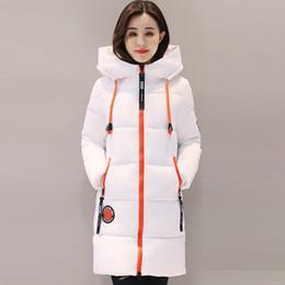 Wholesale Ladies Blue Winter Coat - Fashion Snow Coat Women Parka 2017 Winter Coat Women Jacket Long Thick Slim Ladies Coats Outerwear Parka Jacket Female QH0536