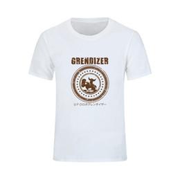 2xl robot Desconto Melhor Venda Grendizer Ufo Robot Para Homens 3d T Shirt 2018 Novo Design Subzero Masculino Roupas Mma Camisa de Beisebol Camisa Masculina