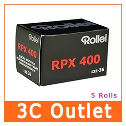 Canada 5 rouleaux Rollei RPX 400 noir et blanc 135 films 35mm 36 exp Offre