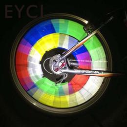 2019 laranja bicicleta luz 12 Pcs Bicicleta Aro Da Roda Falou Tubo De Advertência Luz Refletor Laranja 75mm laranja bicicleta luz barato
