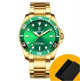 2019 relojes chenxi CHENXI Moda Hombres Relojes Hombres Reloj Reloj de Cuarzo Militar Hombre Hora Dorada Reloj de pulsera de acero inoxidable Reloj Hombre 2018rolex rebajas relojes chenxi