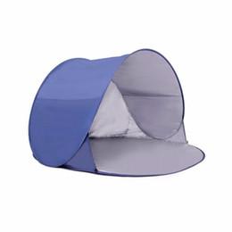 2019 tenda inflável de cubo Anti UV Leve Automatic-se Praia Tenda Sun Shelter Criança Pessoa 2