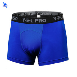 Wholesale Tight Shorts Panties - Men Breathable Quick Dry Underwear Tights Fitness Running Boxer Base Layer Football Soccer Skinny Sports Training Panties Shorts