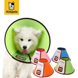 Wholesale Bit Dog Collar - Plastic Cat Dog Collar Eco-friendly Anti-Bite Lick Wound Healing Medical Elizabethan Cat Dog Collars Free Shipping