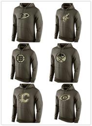 boston hoodies Rabatt Männer Anaheim Enten Olive Arizona Coyotes Sweatshirt Boston Bruins Buffalo Sabres Calgary Flames Carolina Hurricanes Gruß an Service Hoodies