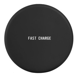 Wholesale portable device chargers - Q16 Fast Charger Qi Wireless Charging Pad Portable Charger For iphone X 8 Plus Samsung Galaxy S8 plus S7 S6 Note8 all Qi-abled devices 10pcs