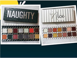 Wholesale Nice Holidays - NEW makeup Jenner Holiday Palettes Naughty & Nice makeup palettes 14 color eyeshadow palette  eyeshadow palettes DHL Free shipping