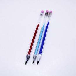 2019 canetas de vidro por atacado Atacado Lápis De Vidro Colorido Dabber Ferramenta para Fumar Dabber Dabber Vidro 6.3inch Dab Pen Pirex Vidro Dabber Ferramenta de Cera