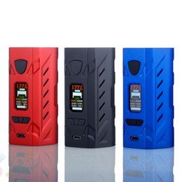 Wholesale Ecig Batteries Color - Authentic Hotcig G177 Box Mod 0.96 inch Color Screen 2A USB Charging Ecig 177W Mod Fit 510 Atomizers 18650 Battery DHL Free