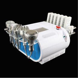 Laser tripolar online-La venta caliente 40K ultrasónica cavitación vacío bipolar tripolar RF cuerpo cara piel apriete Lipo láser quema de grasa pérdida de peso que adelgaza la máquina