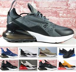 outlet store 24973 e7dac Nike W Air Max 270 Airmax 270 air 270 Haute qualité Mens Flair Triple Noir  270 AH8050 Entraîneur Sport Chaussures de Course Femmes mouche coussin  Sneakers ...