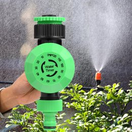 water timer garden irrigation controller Coupons - 2-120 Minutes Water Timer Outdoor Garden Hose Water Timer Irrigation Controller Automatic Shut-off