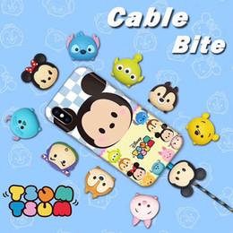 2019 bandoulière en gros pour caméra NOUVEAU 10 styles câble morsure câble de morsure de conte de fées animaux câble protecteur de téléphone accessoire jouets morsures de câble pour iphone Samsung tous les smartphones