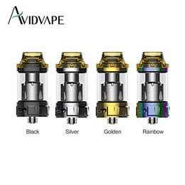Wholesale Ghost Wholesale - Avidvape Ghost Inhale Subohm Tank 4ml with PEI drip tip for heat insulation & 0.4ohm  0.2ohm coils E-cig Tank Atomizer
