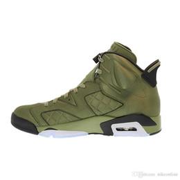 e3cbfc06a26b db shoes NZ - Mens Jumpman 6 VI shoes 6s Flight Jack Saturday Night Live  Green