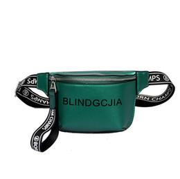 bolsos de cuero de marca azul Rebajas Bolso de cintura de las mujeres Cintura Fanny Packs Cinturón Bolsa Marca de cuero Bolso Bolso Rosa Rojo Negro azul 2018 Nueva moda Hight T-2865