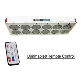 Wholesale apollo led grow - Venesun NEW Full Spectrum Grow Light Apollo 12 Dimmable Remote Control with 180x3W High Efficiency Grow LED. Supply Spectrum Customize