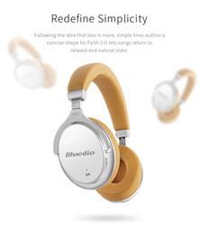 Bluedio bluetooth online-Auriculares Bluetooth BLUEDIO F2, reducción activa de ruido ANC, auriculares inalámbricos para teléfono inteligente montados en la cabeza, auriculares de música hi-fi binaurales