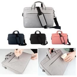 Wholesale Macbook Pro 15 Shoulder Bag - Liner bag Shockproof waterproof notebook Briefcase for Macbook ipad air pro 13.3 14 15.6 inch laptop shoulder bag tablet cases DN010